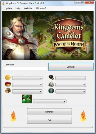 ВЗЛОМ Kingdoms of Camelot: Battle. ЧИТ на монеты, кристаллы и ресурсы.