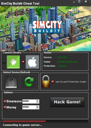 Чит на SimCity BuildIt