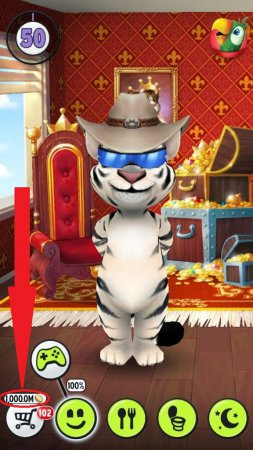 ЧИТ Говорящий кот Том 2 [Talking Tom Cat 2]. Монеты + ADSREMOVER.