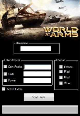 Чит на World at Arms