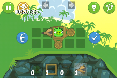ЧИТ Bad Piggies. ВЗЛОМ на опыт, комбо + SUPERWEAPON.