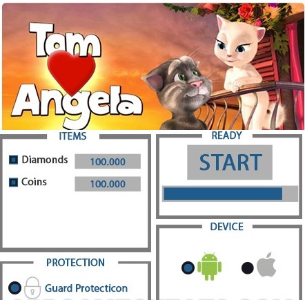 ЧИТ Tom Loves Angela [Том любит Анджелу]. ВЗЛОМ на кристаллы и монетки.