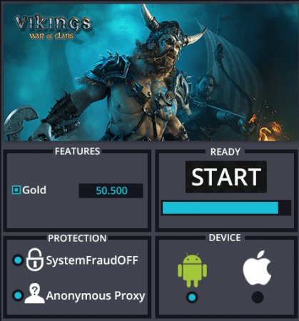 Чит на Vikings: War of Clans