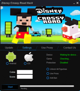 читы для Disney Crossy Road