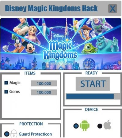 ВЗЛОМ Disney: Magic kingdoms