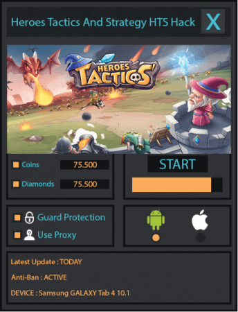 ВЗЛОМ Heroes Tactics: War & Strategy
