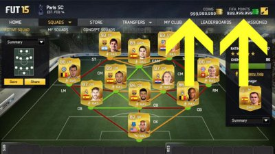 Взлом Fifa 15 Ultimate Team