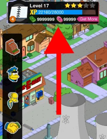 Взлом The Simpsons: Tapped Out