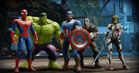 взлом MARVEL Strike Force